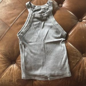 Gray tank top from AE